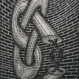 Twisted Up Against A Wall